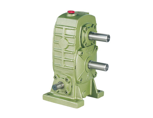 Two-Stage Worm Gear Reducer