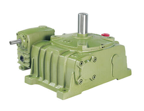 Two-Stage Worm Gear Reducer (Worm Worm)