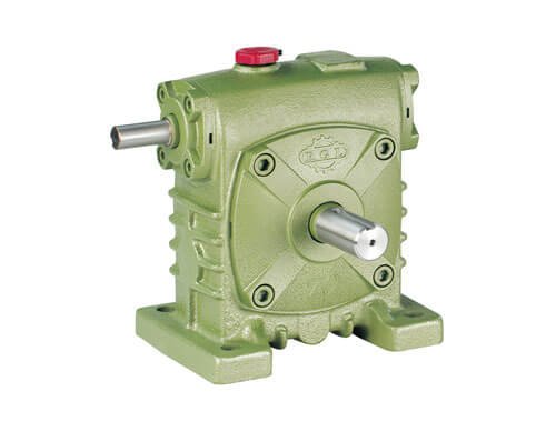 Single-Stage Vertical Worm-Gear Reducer