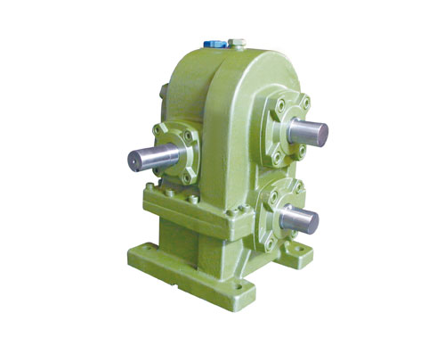 Twin-Shaft Two-Step Worm Gear Reducer