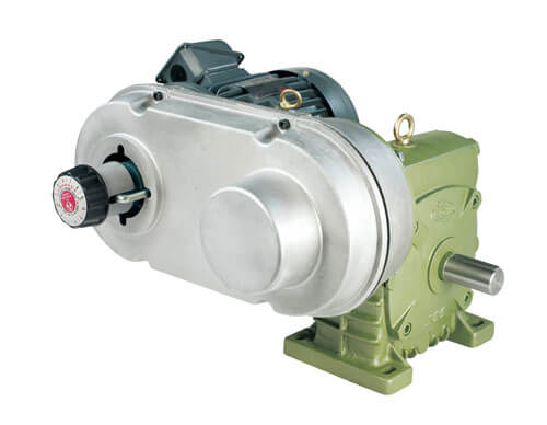Belt Variation Type Worm Gear Reducer